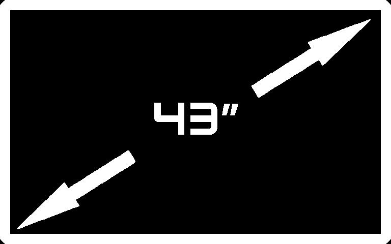 43inch