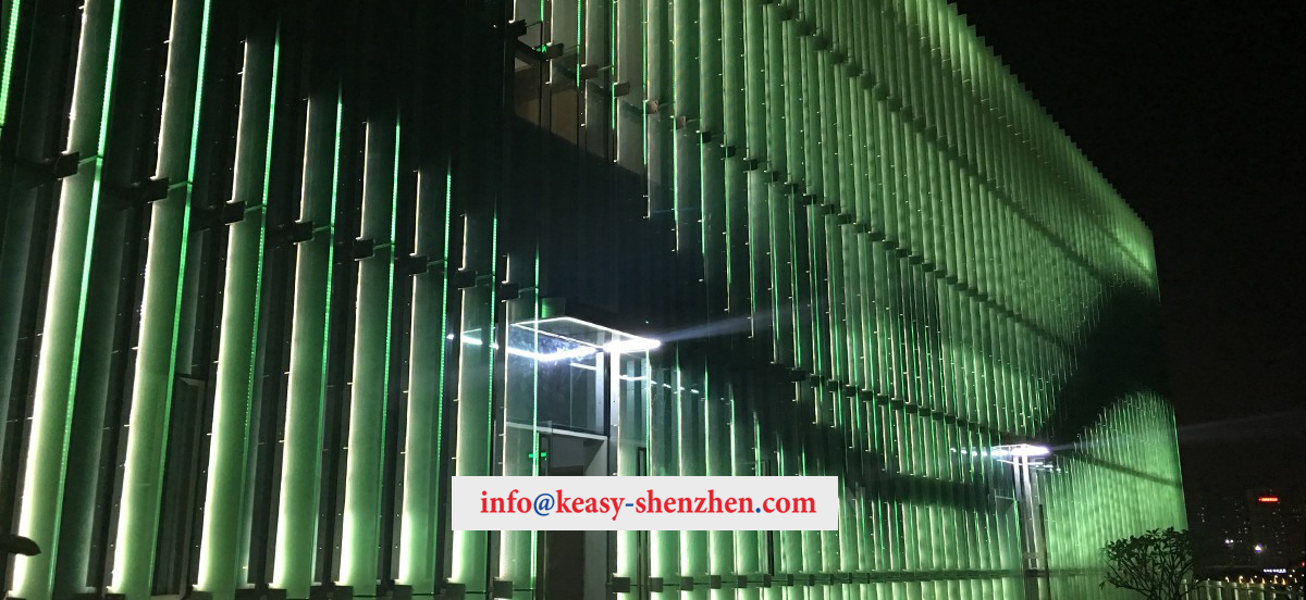 Quanzhou Poly City Sales Department Building Landscape Lighting 3