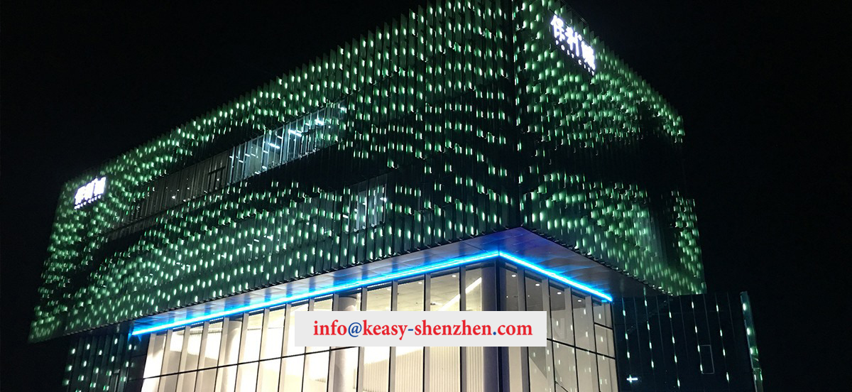 Quanzhou Poly City Sales Department Building Landscape Lighting 4