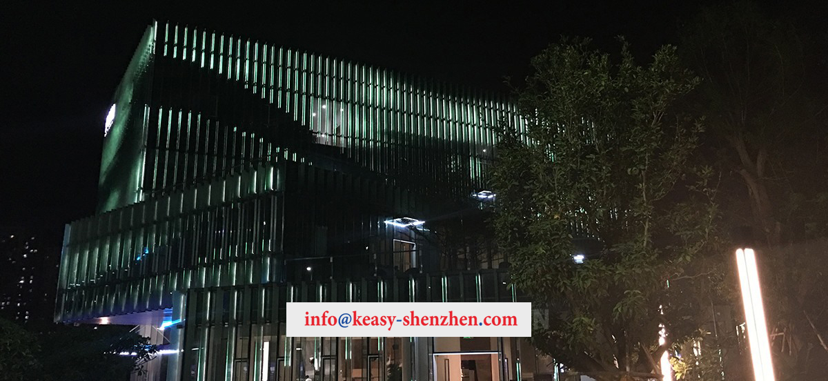 Quanzhou Poly City Sales Department Building Landscape Lighting 6